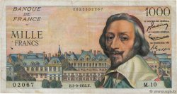 1000 Francs RICHELIEU  FRANCE  1953 F.42.02