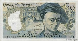 50 Francs QUENTIN DE LA TOUR  FRANCE  1979 F.67.04