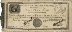 20 Francs Annulé FRANCE  1804 PS.245b