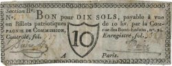 10 Sols  FRANCE régionalisme et divers Paris 1791 Kc.75.077