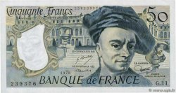 50 Francs QUENTIN DE LA TOUR  FRANCE  1978 F.67.03