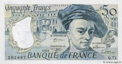 50 Francs QUENTIN DE LA TOUR  FRANCE  1992 F.67.18
