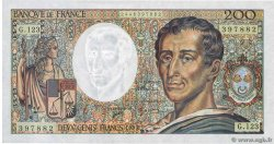 200 Francs MONTESQUIEU  FRANCE  1992 F.70.12b