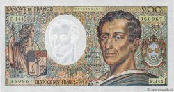 200 Francs MONTESQUIEU  FRANCE  1992 F.70.12c