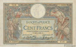 100 Francs LUC OLIVIER MERSON grands cartouches  FRANCE  1925 F.24.03