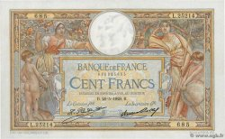 100 Francs LUC OLIVIER MERSON grands cartouches  FRANCE  1929 F.24.08