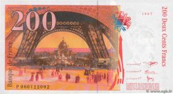 200 Francs EIFFEL  FRANCE  1997 F.75.04b SUP