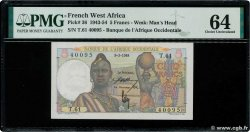 5 Francs  FRENCH WEST AFRICA  1948 P.36