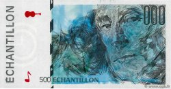 500 Francs CURIE  FRANCE regionalism and miscellaneous  1990