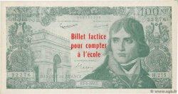 100 Nouveaux Francs Bonaparte Scolaire FRANCE regionalism and miscellaneous  1963 F.(59)