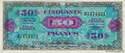 50 Francs DRAPEAU  FRANCE  1944 VF.19.01