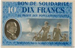10 Francs BON DE SOLIDARITÉ  FRANCE regionalism and miscellaneous  1941 KL.07A4