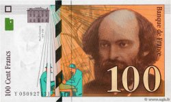 100 Francs CÉZANNE  FRANCE  1998 F.74.02 SUP