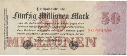 50 Millions Mark  ALLEMAGNE  1923 P.098a TB