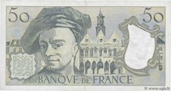 50 Francs QUENTIN DE LA TOUR  FRANCE  1986 F.67.12 TTB+