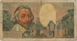 1000 Francs RICHELIEU  FRANCE  1955 F.42.11 B
