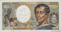 200 Francs MONTESQUIEU Modifié  FRANCE  1994 F.70/2.01 TB+