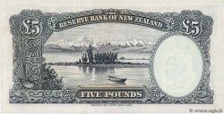 5 Pounds  NEW ZEALAND  1967 P.160d UNC-