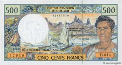 500 Francs  FRENCH PACIFIC TERRITORIES  2000 P.01f