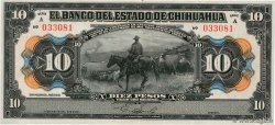 10 Pesos MEXIQUE  1913 PS.0133a SPL