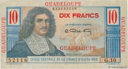 10 Francs Colbert  GUADELOUPE  1946 P.32 pr.NEUF