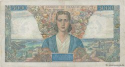 5000 Francs EMPIRE FRANÇAIS FRANCE  1945 F.47.31 TB