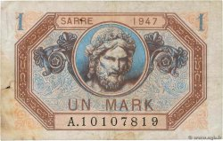 1 Mark SARRE FRANCE  1947 VF.44.01 B+