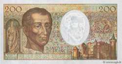 200 Francs MONTESQUIEU  FRANCE  1992 F.70.12c UNC