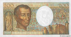 200 Francs MONTESQUIEU  FRANCE  1985 F.70.05 AU