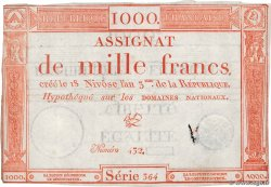1000 Francs FRANCE  1795 Ass.50a pr.TTB