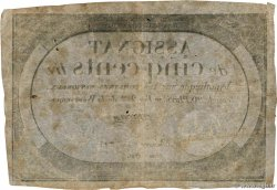 500 Livres FRANCE  1794 Ass.47a TB