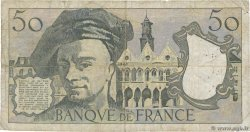 50 Francs QUENTIN DE LA TOUR FRANCE  1977 F.67.02 B