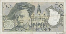 50 Francs QUENTIN DE LA TOUR FRANCE  1981 F.67.07 TB