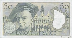 50 Francs QUENTIN DE LA TOUR FRANCE  1987 F.67.13 TTB+
