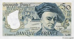 50 Francs QUENTIN DE LA TOUR  FRANCE  1987 F.67.13 UNC-