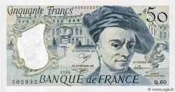 50 Francs QUENTIN DE LA TOUR  FRANCE  1990 F.67.16