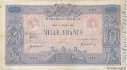 1000 Francs BLEU ET ROSE  FRANCE  1916 F.36.30