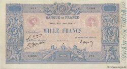 1000 Francs BLEU ET ROSE  FRANCE  1926 F.36.42