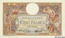 100 Francs LUC OLIVIER MERSON type modifié FRANCE  1938 F.25.12 SUP
