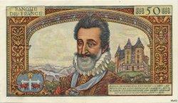 50 Nouveaux Francs HENRI IV FRANCE  1959 F.58.04 SUP+