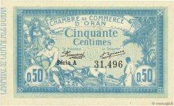 50 Centimes ORAN ALGÉRIE  1915 JP.141.01 SPL