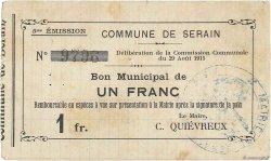 1 Franc FRANCE régionalisme et divers  1915 JP.02-2165 TTB