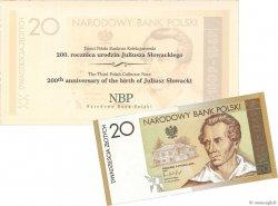 20 Zlotych POLOGNE  2009 P.180 NEUF
