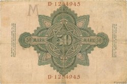 50 Mark ALLEMAGNE  1906 P.026b TB+