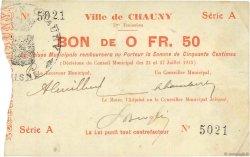 50 Centimes FRANCE régionalisme et divers  1915 JP.02-0479 TTB