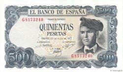 500 Pesetas ESPAGNE  1971 P.153a pr.SPL
