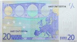 20 Euro EUROPE  2002 €.120.26 pr.NEUF