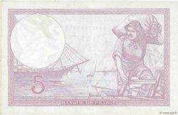 5 Francs VIOLET modifié FRANCE  1939 F.04.06 SUP+