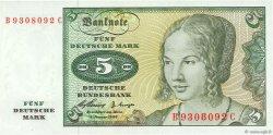 5 Deutsche Mark ALLEMAGNE  1960 P.018a pr.NEUF