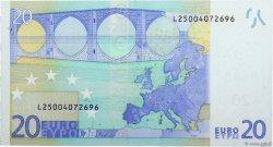 20 Euros FINLANDE  2002 €.120.17 SPL